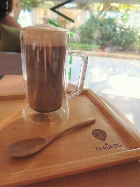 是日推介,冬季限定,可可香草伯爵紅茶。