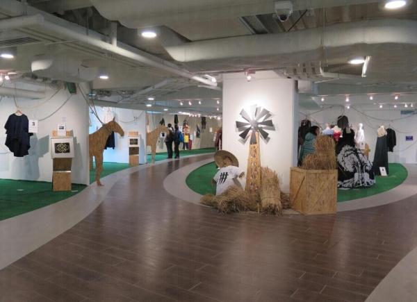 位於 D2 Place 2 樓的Fashion Forward Festival。