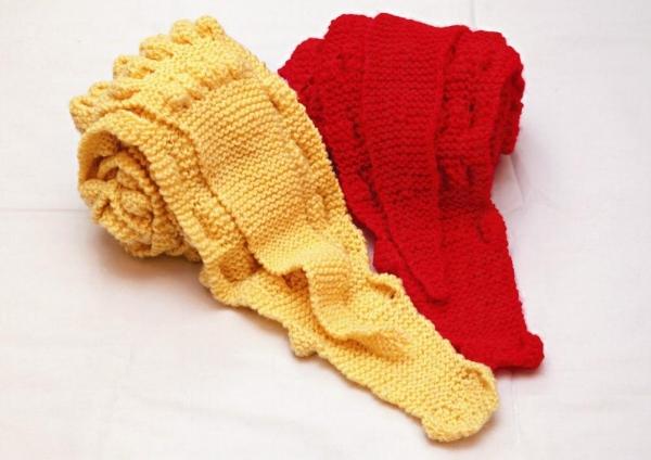 手織冷頸巾 $310