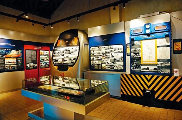 博物館展出的舊文物,包括舊火車站古蹟、古董車廂、歷史圖片等。