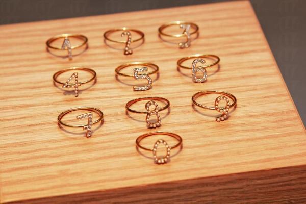 Miss BiBi 的首飾風格清新充滿少女感覺,指環 $1,099。
