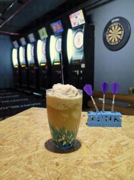 店家推介,清新的椰子咖啡品酪冰
