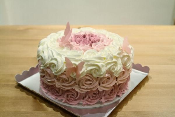 簡單的蛋糕製作可以用製飾點綴