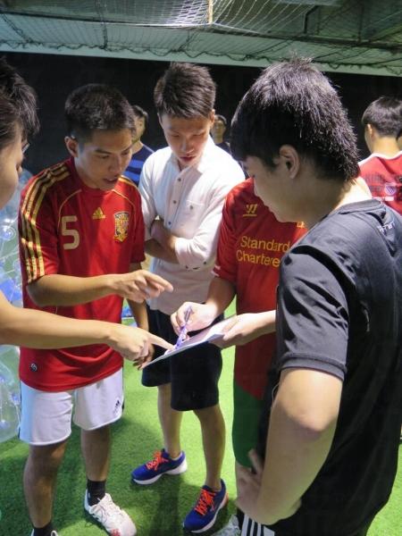 泡泡足球比賽不分上下場,只得8 – 10分鐘,賽前要定好戰術!