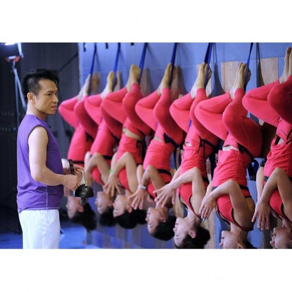 由Dickson 以及專業瑜珈導師指導,玩得放心  (圖:Dickson Yoga)