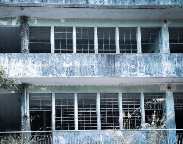 已荒廢的校園。