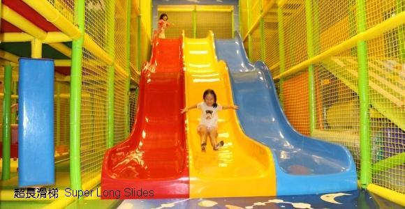 超長滑梯對小朋友而言是非常刺激!(圖:Play House提供)
