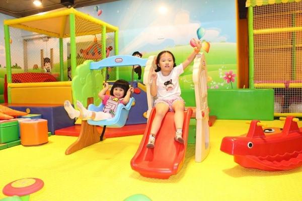 Play House的遊樂設施都相當安全(圖:Play House提供)